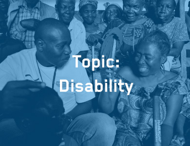 Topic: Disability